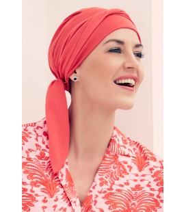 Turbante BEATRICE Technology corallo - 0244