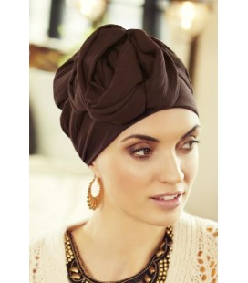 Turbante SHAPPIRE set moka - 0579