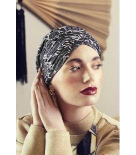 Turbante SHAPPIRE floral woods - 0738